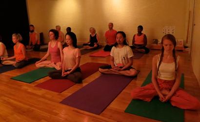 mahayogi yoga mission ny  raja yoga asana  meditation class